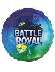 Ballon aluminium rond battle royal 43 cm