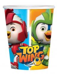8 Gobelets en carton Top Wing™ 250 ml