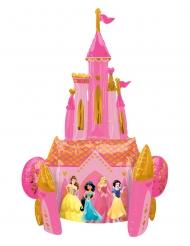 Ballon aluminium château recto verso Princesses Disney™ 88 x 139 cm