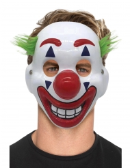 Masque clown fou adulte