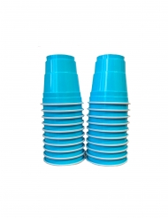 20 Shooters américains turquoise 4cl
