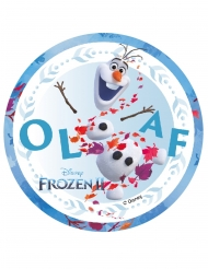Disque en azyme La Reine des Neiges 2™ Olaf 14,5 cm