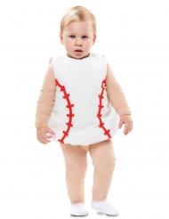 Déguisement balle de baseball bébé