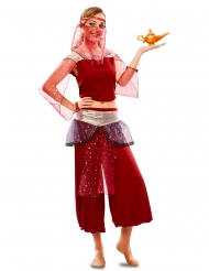 Déguisement danseuse orientale rouge femme
