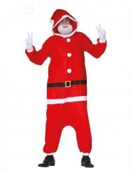 Combinaison Père Noël moderne adulte
