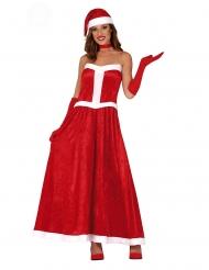 Déguisement robe Mère Noël femme