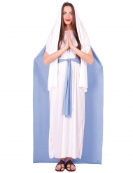 Déguisement Vierge Marie avec cape femme