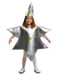 Déguisement étoile argentée enfant
