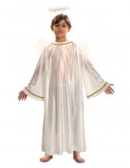 Déguisement ange blanc enfant