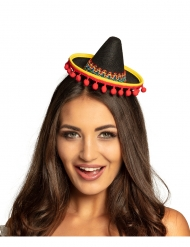 Mini sombrero mexicain adulte