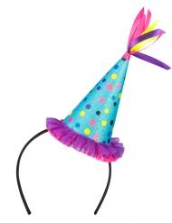 Serre-tête chapeau de fête adulte