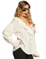 Tunique pirate blanche femme