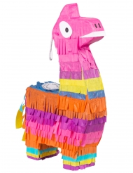 Mini piñata lama multicolore 23 x 13 cm