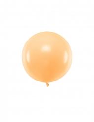 Ballon en latex géant pêche 60 cm