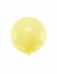 Ballon en latex géant jaune 1 m