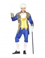 Déguisement marquis bleu homme