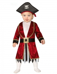 Déguisement robe pirate bébé