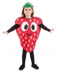 Déguisement petite fraise enfant