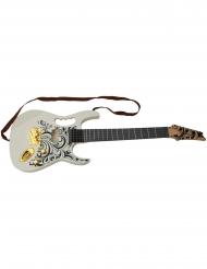 Guitare électrique blanche 67 cm