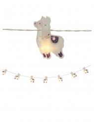Guirlande lumineuse lamas 10 LEDS 165 cm