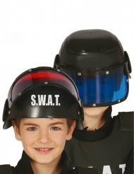 Casque avec visière SWAT enfant
