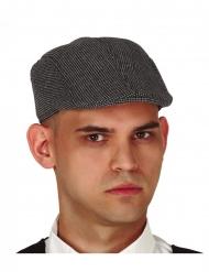 Casquette de détective grise adulte