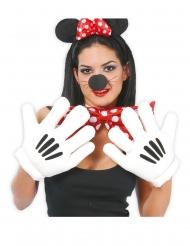 Gants mains géantes souris adulte