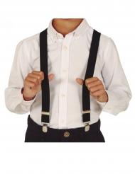 Bretelles noires enfant