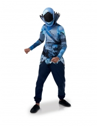Top et masque Winter Raven Fortnite™ enfant
