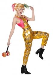 Salopette dorée Harley Quinn Birds of Prey™ femme