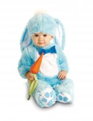Déguisement petit lapin bleu bébé