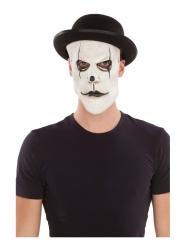 Masque mime avec chapeau