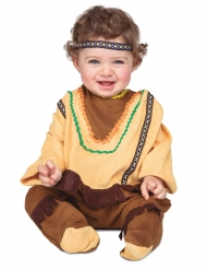 Déguisement avec bandeau indien bébé