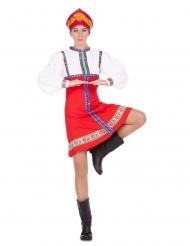 Danseuse traditionnelle russe femme