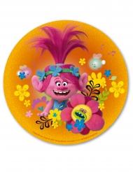 Disque en azyme Poppy Trolls™ 20 cm