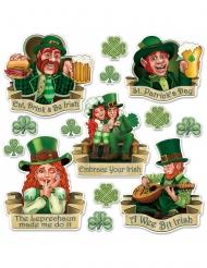Cutouts en carton Saint Patrick 8 - 37 cm
