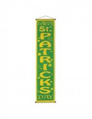 Bannière géante à suspendre Saint Patrick 30 cm x 121 cm