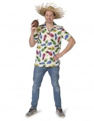 Chemise à motif ananas homme