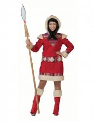 Déguisement robe esquimau nanook femme