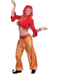 Top danseuse rouge femme