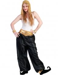 Pantalon noir danseuse femme