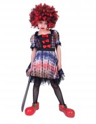 Déguisement clown effrayant fille
