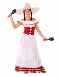 Déguisement femme Mexicaine fille