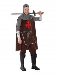 Déguisement de chevalier croisé adolescent