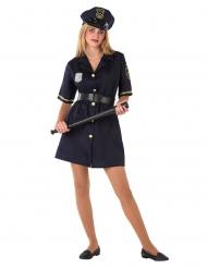 Déguisement uniforme de policier adolescente
