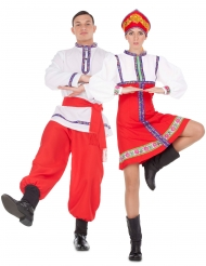 Déguisement de couple traditionnel russe