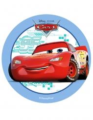 Disque en azyme Cars™ bleu 14,5 cm