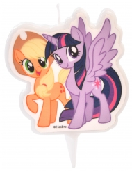 Bougie My Little Pony™ Applejack et Twilight Sparkle 6,5 cm