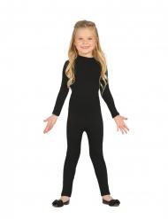 Combinaison justaucorps noir enfant