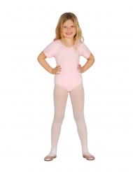 Body manches courtes rose pâle enfant